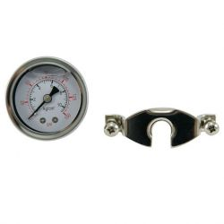 Oil Filled Pressure Gauge (Panel Mount with U-Clamp)
