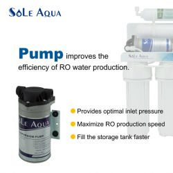 5 Stage Water Filter System with Booster Pump|SOLE AQUA