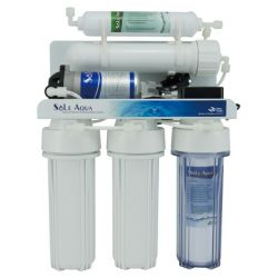 5-Stage Reverse Osmosis Drinking Water Filter System (With Booster Pump)