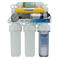 6-Stage Big Pressure Gauge Reverse Osmosis Drinking Water Filter System (Hanging type)