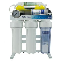 6-Stage Big Pressure Gauge Reverse Osmosis Drinking Water Filter System (Stand type)