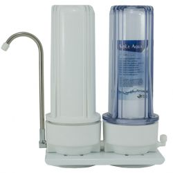 2 stage Counter Top Water Filtration System