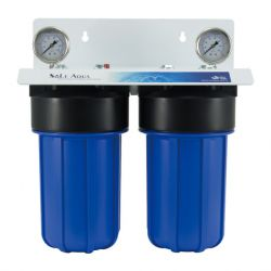 2 stage whole house water filter system