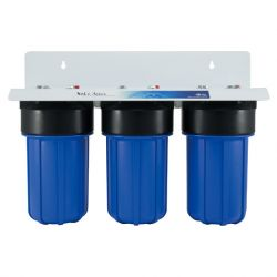 3 stage whole house water filtration system, 3 stage water filter whole house