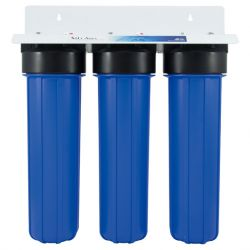 3-Stages 20-inch Big Blue Whole House Water Filtration System