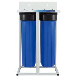 2-Stages 20-inch Big Blue Whole House Water Filtration System