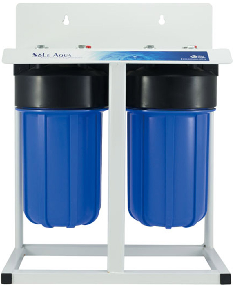 Best Water Filtration System >> 2-Stages 10-inch Big Blue Whole House Water Filtration System|SOLE AQUA